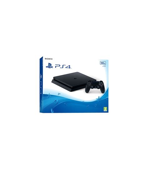 Ps4 Slim 500 Gb Plus Tv Led Dan Stik sony playstation 4 slim 500 gb cuh 2016a t 252 rkce oyun konsolu