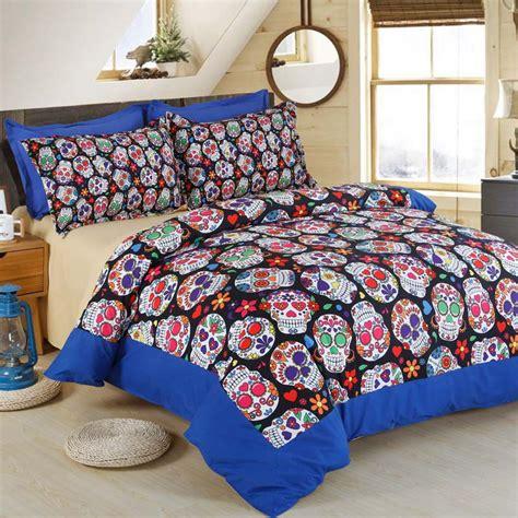queen size skull bedding sets 3d skull halloween bedding set skull home textile