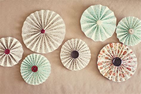 How To Make Paper Pinwheel Decorations - oh so pretty pleated pinwheels decor