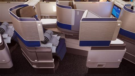 united airlines car seat united airlines unveils new luxury business cabin jun 2
