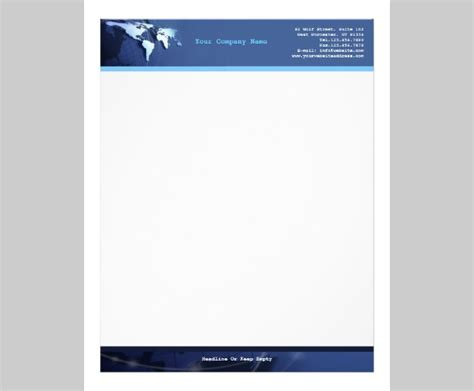 business letterhead templates indesign 10 best premium letterhead design free templates free