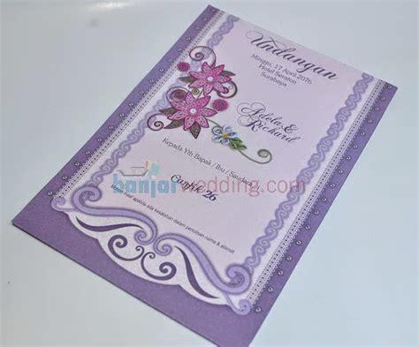 Undangan Cantik 26 undangan pernikahan cantik ub c26 banjar wedding
