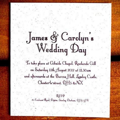 Casual Wedding Invitation Wording by Casual Wedding Invitation Wording Sles Invitation