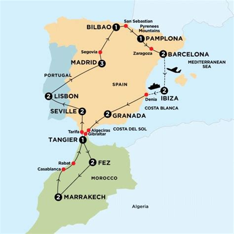 europe tours spain morocco portugal europe contiki 78 best images about iberian peninsula on pinterest