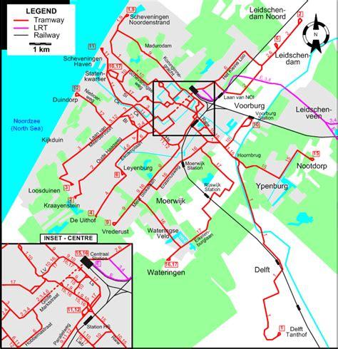 netherlands map den haag den haag the hague 2008