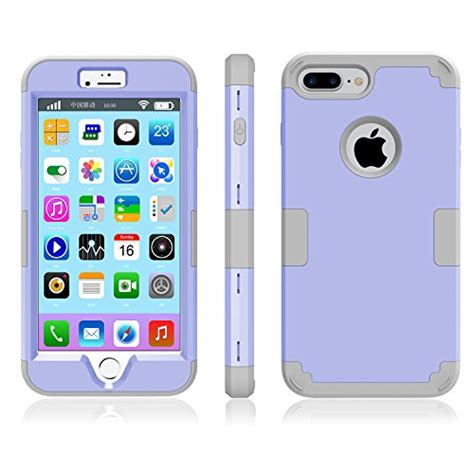 Soft Iphone 7 7s Softcase Cocose Naga iphone 7 plus mcuk 3 in 1 hybrid best impact defender cover silicone rubber skin