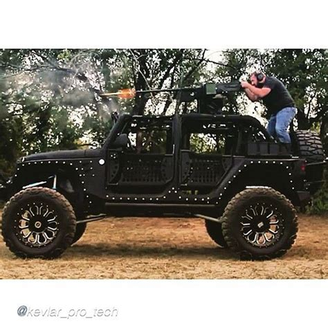 jeepbeef by kevlar pro tech fmj with 50 cal in action