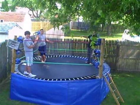 backyard troline ring