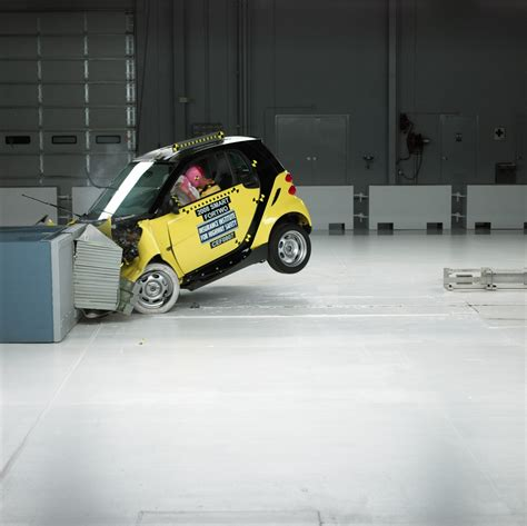 smart car crash car crash smart car crash test