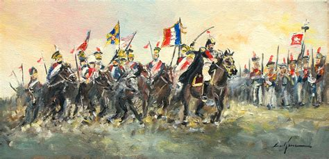 Home Decor Curtains Online by The Battle Of Austerlitz Painting By Luke Karcz