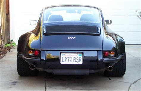 Porsche 912 Widebody by 964 Decklid On An Early Widebody Pelican Parts Technical Bbs