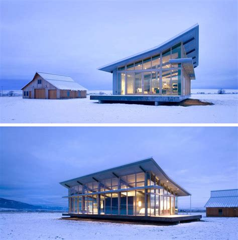 modern house roof 16 exles of modern houses with a sloped roof contemporist