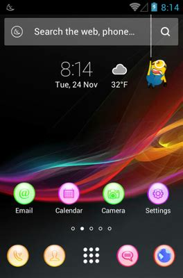 colourful themes for android colorful android theme for apus launcher androidlooks com