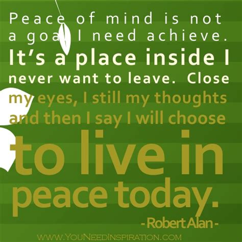 eat in peace to live in peace your handbook for vitality books peace of mind quotes quotesgram
