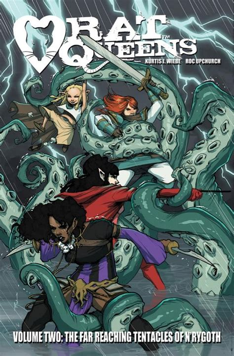 libro rat queens volume 3 rat queens tpb 2 cover by johnnyrocwell on