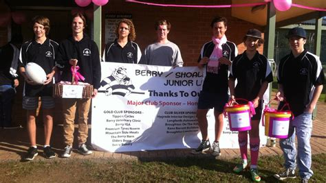 cara membuat novel pink berry club berry magpies turn pink for great cause south coast register