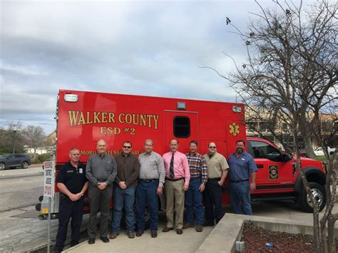 Lu Emergency Stark emergency service district presents new ambulance to county local news itemonline