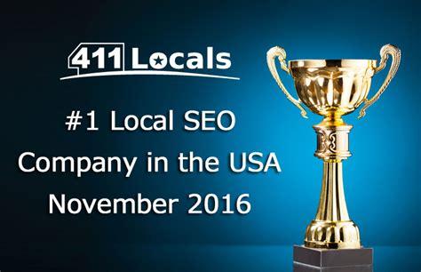 Seo Companys 1 by 411 Locals 1 Local Seo Company In The Usa