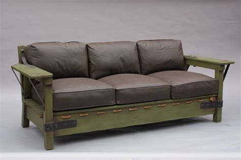 monterey sofa classic monterey green rope bottom sofa frame at 1stdibs