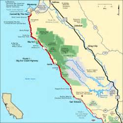route 1 big sur coast highway map america s byways