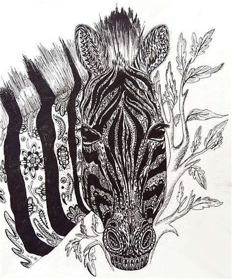 zebra pattern unique unique zebra tattoo design