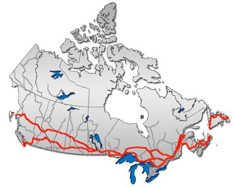 trans canada highway map trans canada highway twinning segments u c page 16