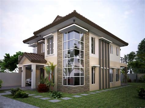 designed homes contemporary elegant residential house design home design