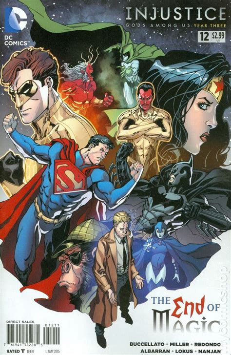injustice gods among us year three the complete collection injustice gods among us year three 2014 dc comic books
