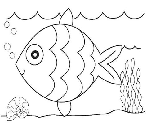 cute fish coloring pages papeleria pinterest