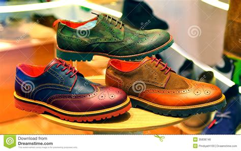Comfortable Footwear Leather Shoes For Men Royalty Free Stock Image Image