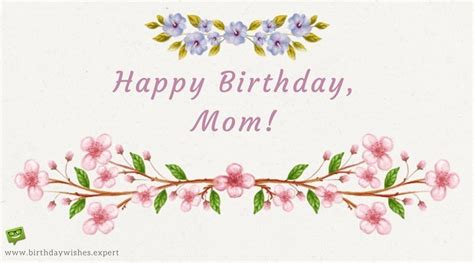 Happy Birthday Wishes From Parents To Best Mom In The World Birthday Wishes For Your Mother