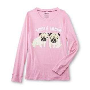 joe boxer pug pajamas joe boxer s pajama shirt shorts pugs kisses