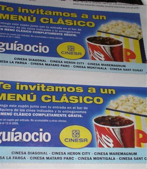 entradas gratis cinesa palomitas quot gratis quot en cines cinesa bcn