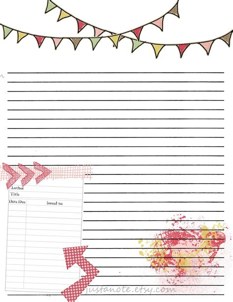 printable blank journal pages search results for printable journal template calendar
