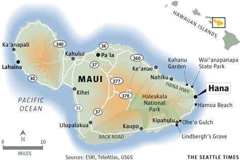 printable road map maui hawaii an affordable vacation on maui s hana highway the