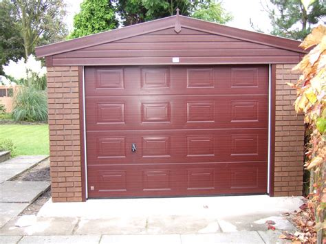 brick garages designs woodthorpe wooden door garages concrete garages