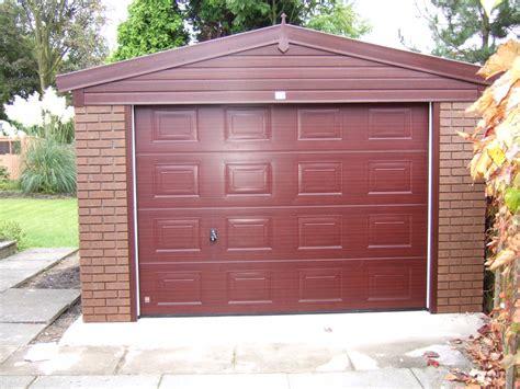 brick garages designs woodthorpe wooden door garages concrete garages buildings birmingham west midlands