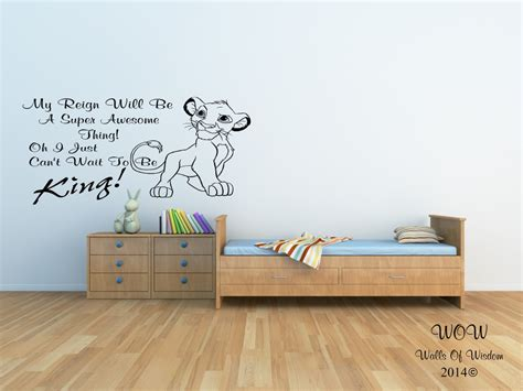 Lion King Wall Decals For Nursery Thenurseries King Wall Decals For Nursery