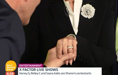 new wedding ring after infidelity sharon osbourne shows off new wedding ring from ozzy hello