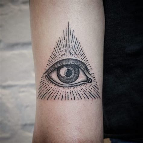 all seeing eye tattoo 50 mysterious all seeing eye ideas everything you