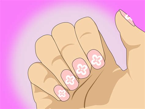 easy nail art wikihow c 243 mo hacer un dise 241 o creativo de u 241 as f 225 cilmente con un