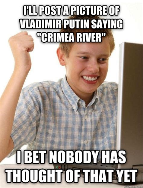 Crimea River Meme - 662 crimea river painting putin pouting big think