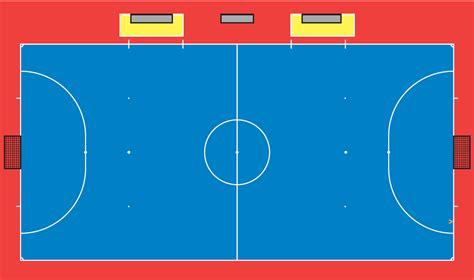 gambar dan ukuran lapangan futsal m rosyid ardiansyah s blog ukuran lapangan futsal sesuai