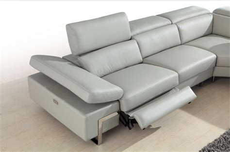 contemporary leather reclining sofa modern reclining leather sofa modern reclining sofa set