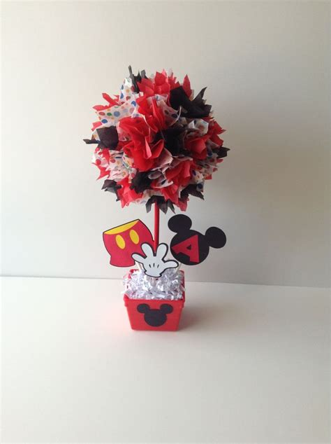 Mickey Mouse Birthday Party Decoration Centerpiece Centerpieces For Mickey Mouse Birthday