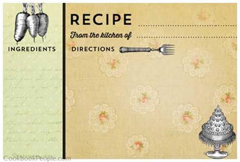 deorative recipe card template 300 printable recipe cards craft ideas