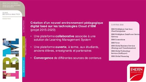 Emlyon Mba Tuition by Emlyon Acc 233 L 232 Re Sa Transformation Digitale Et Invente La