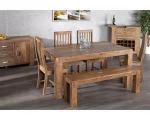salle 224 manger en bois design betani bois massif bois
