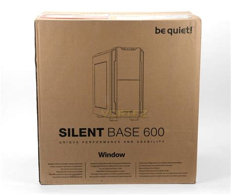 Original Be Silent Base 600 With Window be silent base 600 window review packaging look
