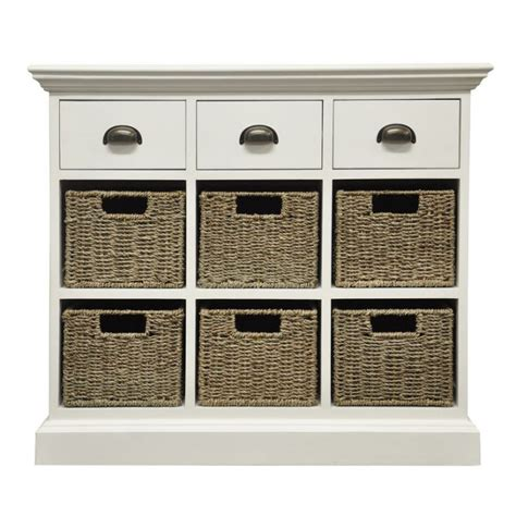 Dresser With Wicker Baskets by White Chest Of Drawer Wicker Baskets Buy Small